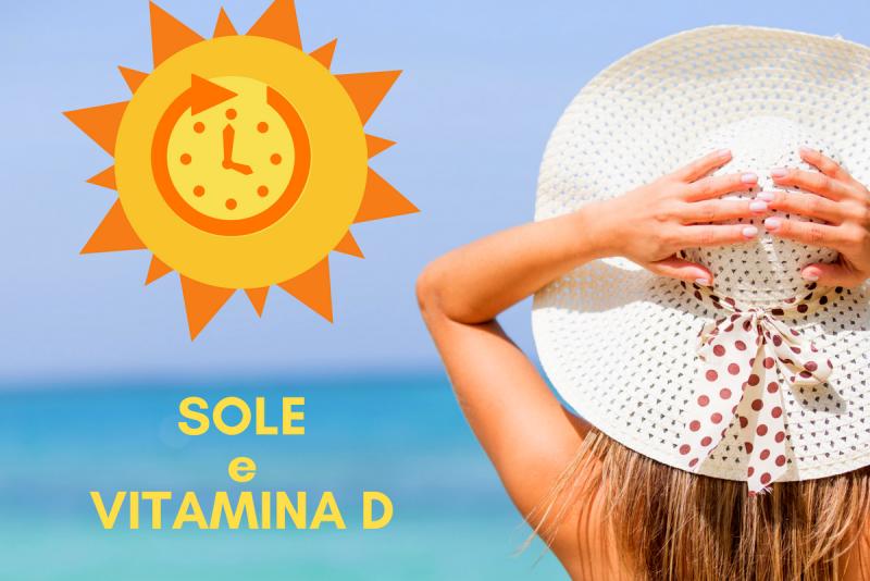 vitamina d sole esposizione solare integratore